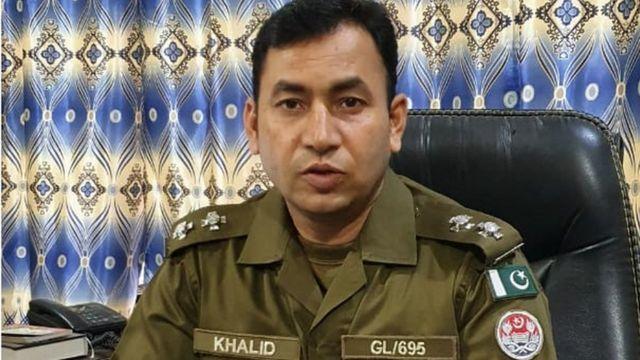 گوجرانوالہ پولیس کے سپیشل آپریشنز سیل کے انچارج خالد نواز واریا