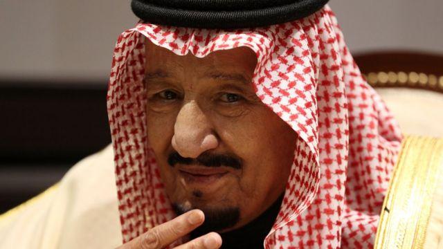 الملك سلمان في قمة شرم الشيخ