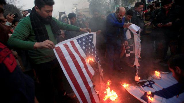 Протест в Лахоре