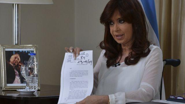 Cristina Kirchner em 2015