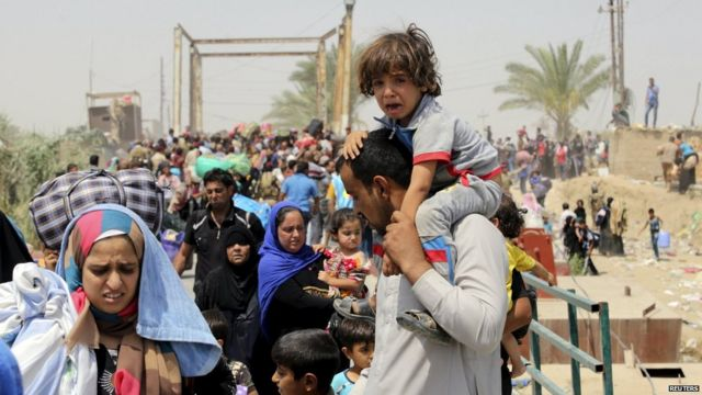 Islamic State conflict: Three million displaced in Iraq