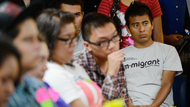 Una charla de dreamers en 2012.