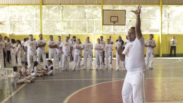 Reunião dos Capoeiristas do Rei em Brasília