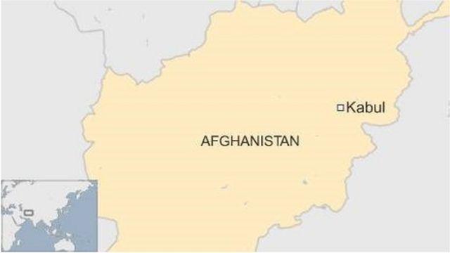 アフガニスタンの地図