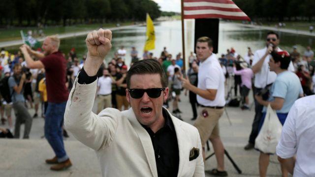 Richard Spencer, fundador do termo alt-right, que estará presente nos eventos deste sábado