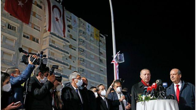 Erdoğan, 15 Kasım'da Kapalı Maraş bölgesindeydi