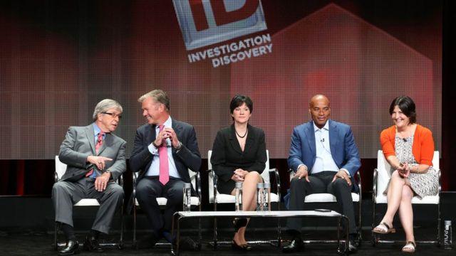 """Panel del programa """"Homicidio"""", del canal Discovery"""