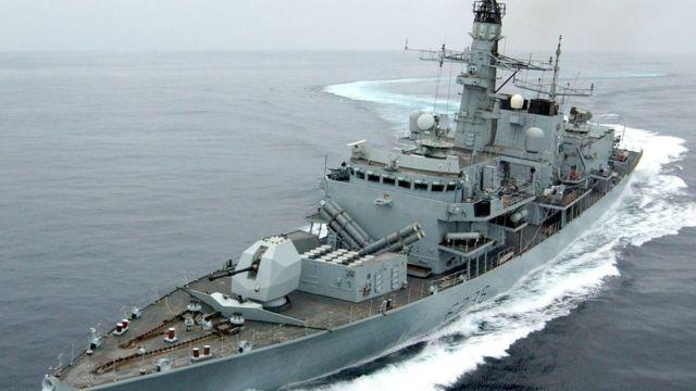 фрегат HMS Montrose
