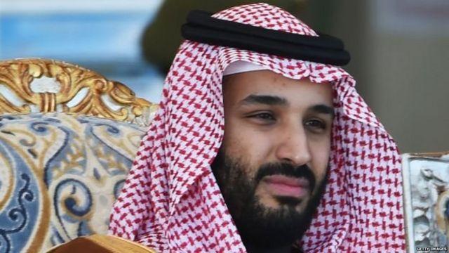 सऊदी अरब के क्राउन प्रिंस मोहम्मद बिन सलमान