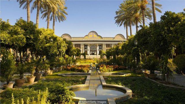 正是因为坎儿井,古伊朗人才能够修建美丽的花园(Credit: tunart/Getty Images)
