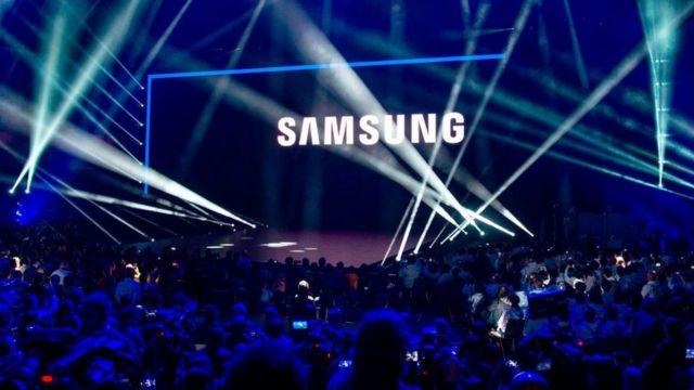 Evento da Samsung
