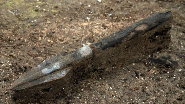 A ponta de uma lança