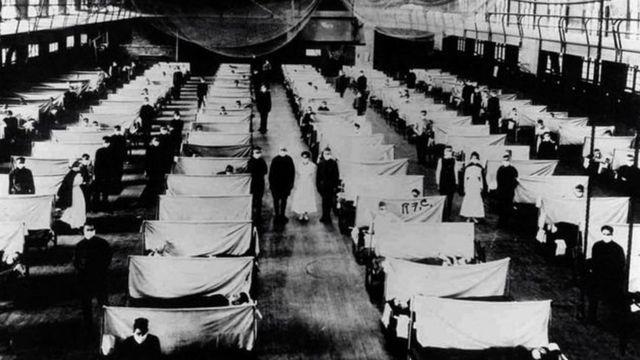 الانفلونزا الاسبانية