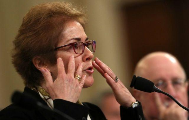 Former US Ambassador to Ukraine Marie Yovanovitch