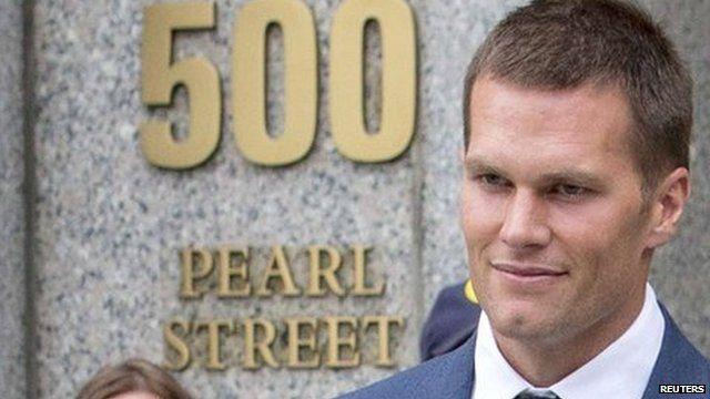 d6e358c0d55 Tom Brady 'Deflategate': Reaction and memes - BBC News