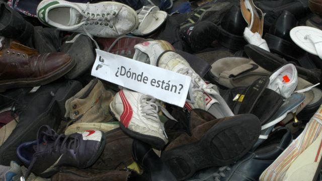 manifestación por los desaparecidos