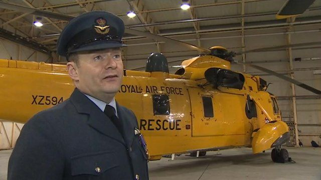 "Wing Cdr Mark ""Sparky"" Dunlop said the duke of Cambridge"
