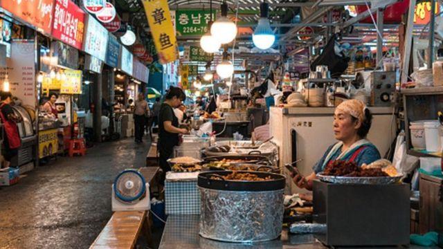 દક્ષિણ કોરિયન બજાર