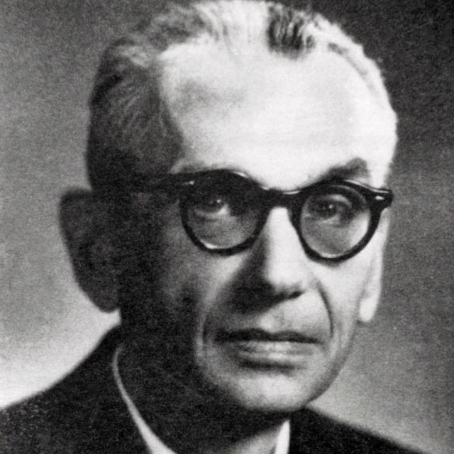 Kurt Gödel.