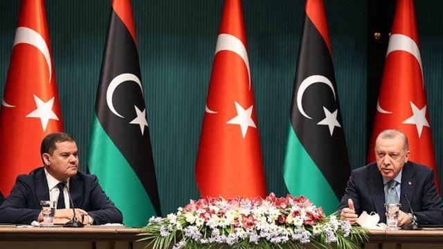 Cumhurbaşkanı Erdoğan ve Ulusal Birlik Hükümeti Başbakanı Dibeybe