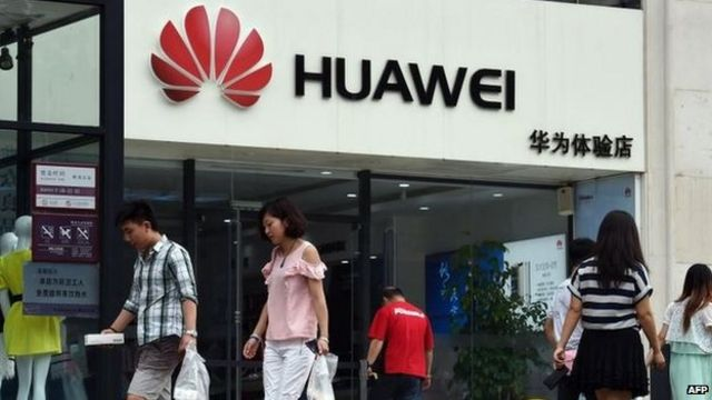 Chinese telecoms giant Huawei sees revenues jump 30%
