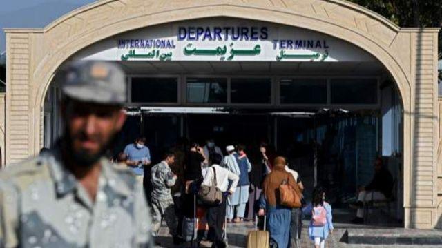 Vào ngày 15/8 thì Sân bay Quốc tế Kabul là