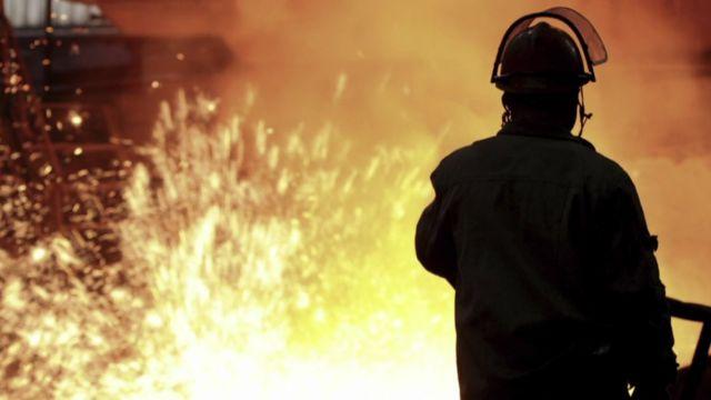 A steel worker.