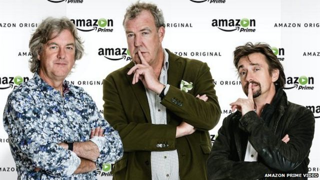 Ex-Top Gear hosts' Amazon show to be 'very expensive'