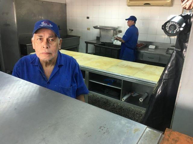 Filadelfo Guerrero, carnicero. (Foto: Gustavo Ocando Alex)
