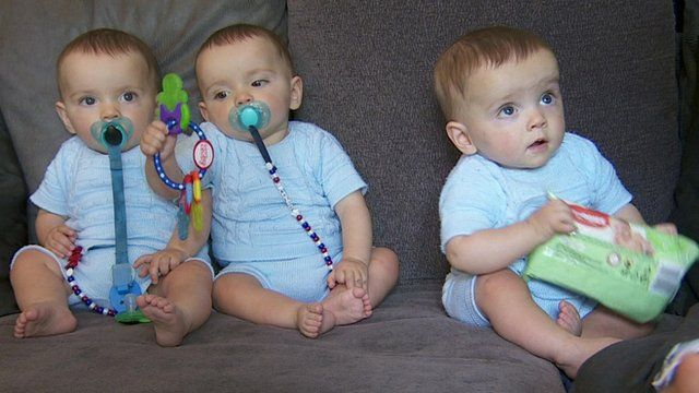 tests prove triplets are identical bbc news