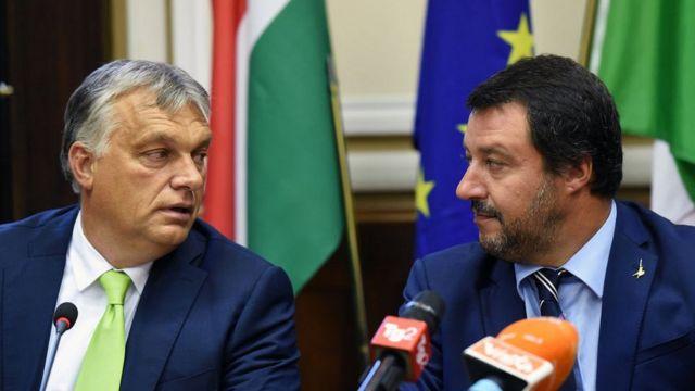 Виктор Орбан, Маттео Сальвини