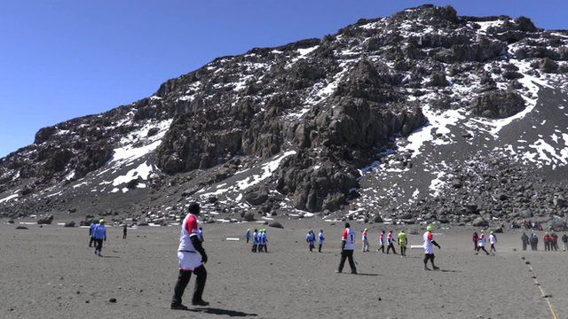 Kilimanjaro rugby match