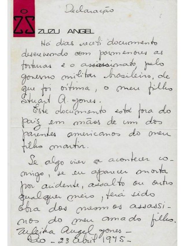 Carta manuscrita