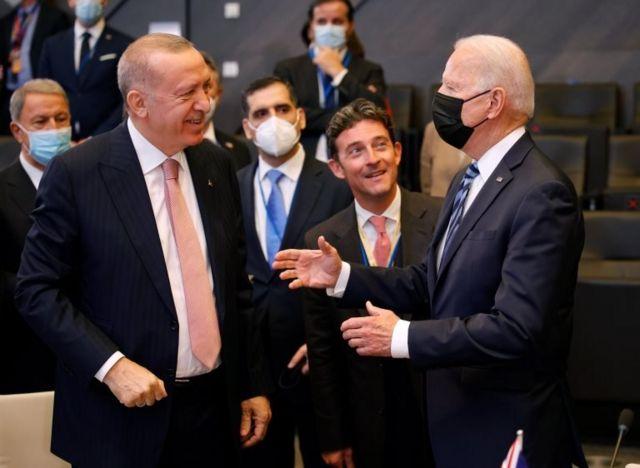 New York Times: Erdoğan, Biden'la görüşmesi öncesi tavrını yumuşattı - BBC  News Türkçe