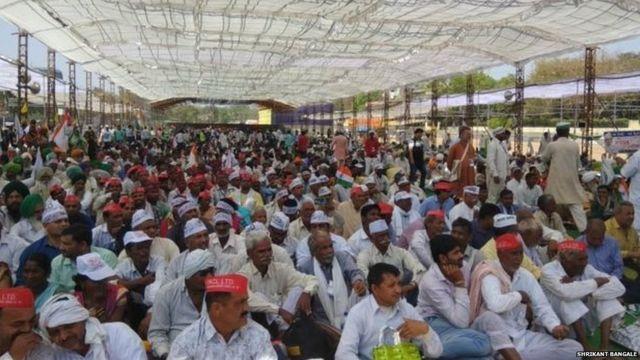 अन्ना हज़ारे के अनशन में कई किसान संगठनों ने भी हिस्सा लिया था. यह अनशन सात दिन तक चला था.