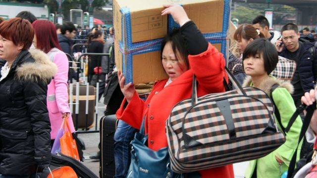Chinese New Year: Why many will travel home for good