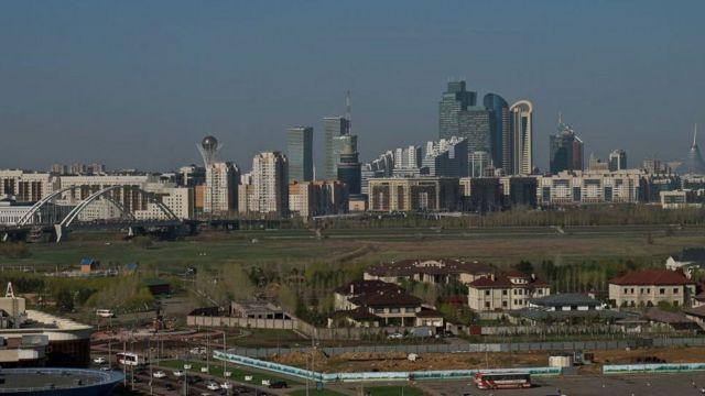 Astana caasimadda Kazakh, waa mid ka mid ah magaalooyinka ugu casriyaysan Bartamaha Aasiya