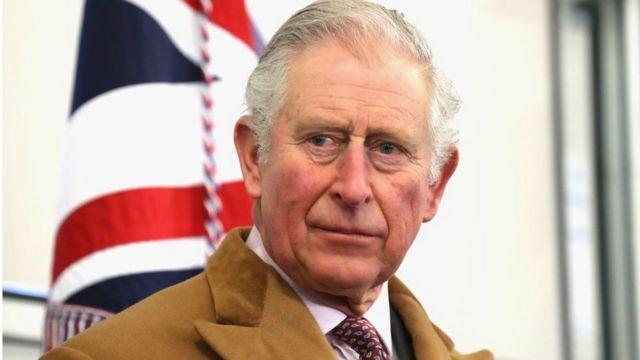 Príncipe Carlos de Gales.