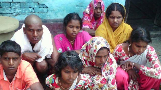 बिहार सिरहीरा गांव राम अवध शाह का परिवार