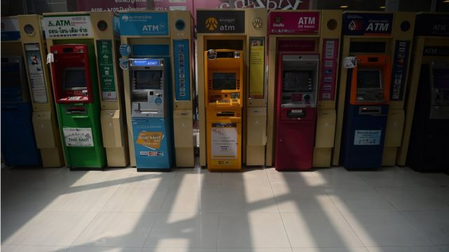 ตู้กดเงินอัตโนมัติ ปัจจุบันทำธุรกรรมทางการเงินได้หลากหลาย