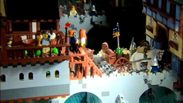 Brick Wonders Lego exhibition on display in Londonderry