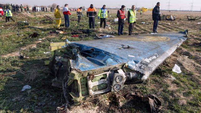 سرنگونی هواپیمای اوکراینی