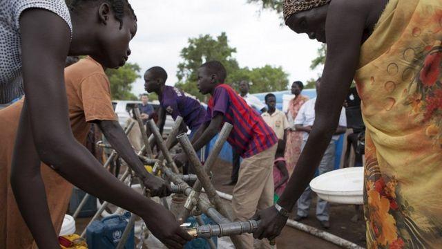Jovens na Etiópia