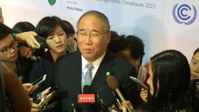 中国の交渉責任者、解振華・国家発展改革委員会気候変動特別代表