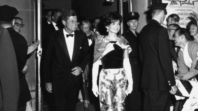 John e Jackie Kennedy