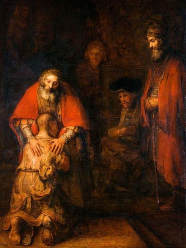 'O Retorno do Filho Pródigo', de Rembrandt