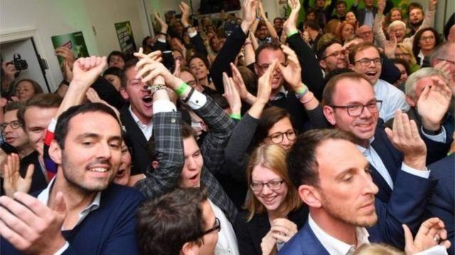 سبزها تعداد کرسیهای خود در پارلمان هسه را با سوسیال دمکراتها برابر کردند