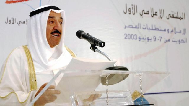 صباح احمد جابر الصباح، امیر کویت که بیش از یک دهه رهبر این کشور است