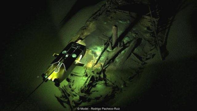 Upaya-upaya penelitian oseanografi baru-baru ini menggunakan sepasang kendaraan yang dioperasikan di bawah air jarak jauh (ROV) telah berkelana di bawah perairan Laut Hitam