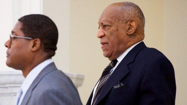 Bill Cosby llega a la corte